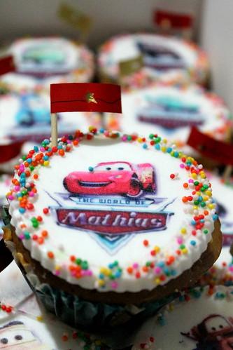 Cars cupcake