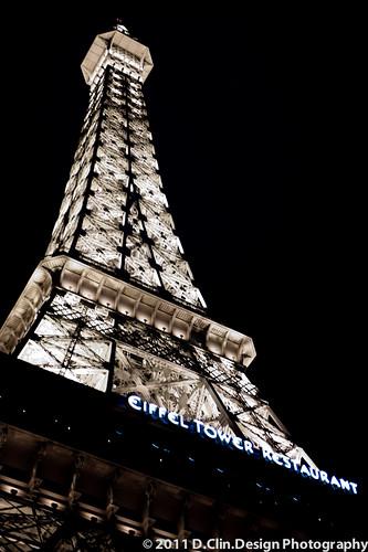 Faux Eiffel Tower by d.clin.design