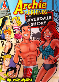 Archie and Friends at the Riverdale Shore