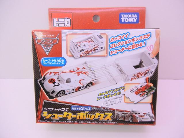 disney cars 2 tomica shu todoroki launcher (1)