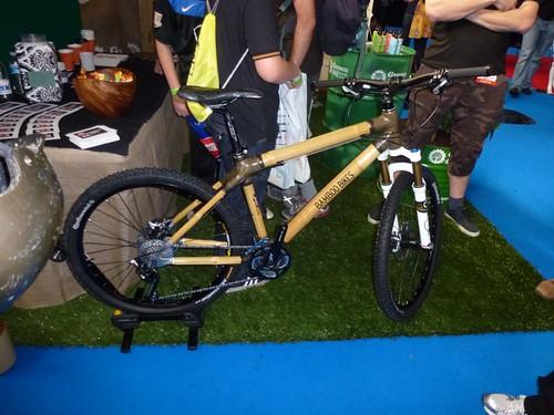 A bike made from Bamboo. Ummm.