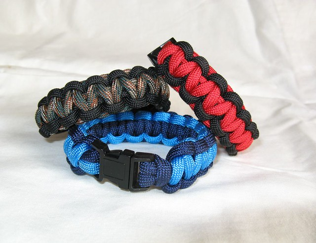 Because one can never have too many paracord bracelets!