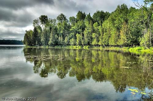 Morning on Little Cedar Lake