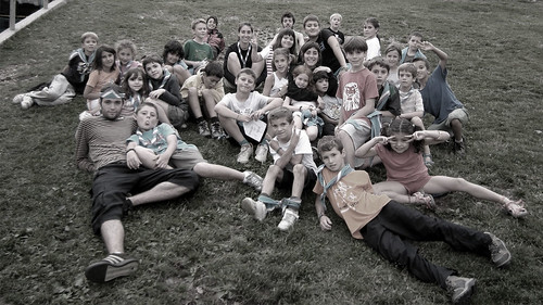 Colònies estiu 2011 esplai natzaret - Castellar de n'Hug (grup)