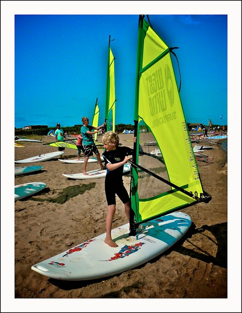 #212/365 Wind Surfing: Dry Run