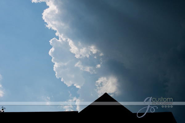 sky on a stormy day