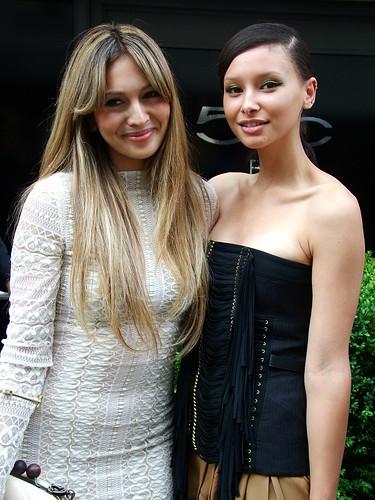 Zara Martin and Leah Weller