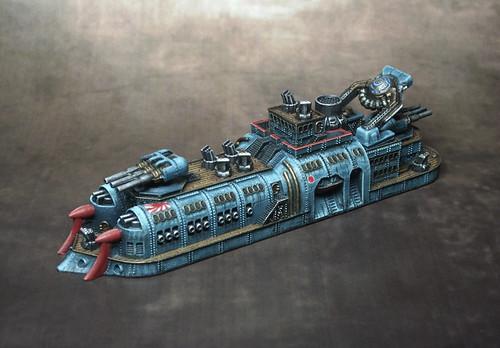 Empire of the Blazing Sun Battleship