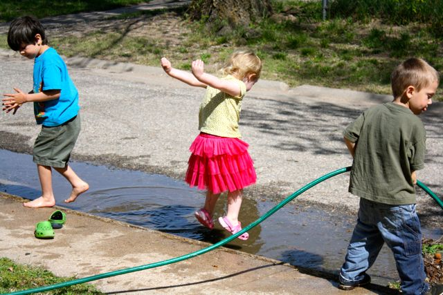 last day of school water play! - 10