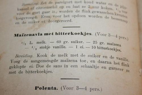 Ouderwetsche kookboeken