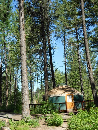 Winchester Lake State Park yurt