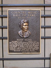 Patsy Cline Plaque