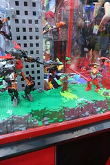 Hero Factory Display Case - LEGO Booth at Comic Con - 6