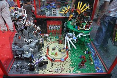Hero Factory Display Case - LEGO Booth at Comic Con - 8