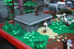 Star Wars Display Case - LEGO Booth at Comic Con - 2