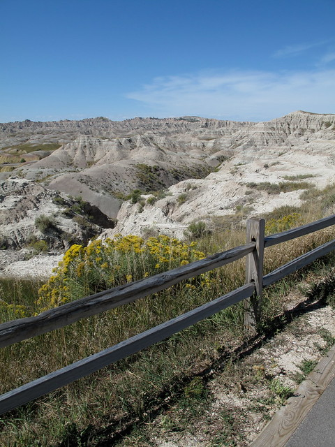 badlands fence