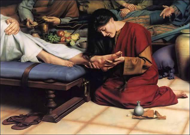 Jesus saving a prostitute 2