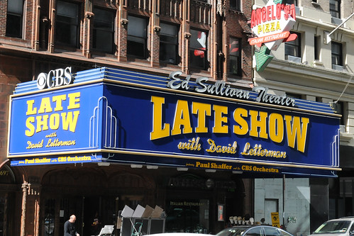 The Late Show with David Letterman @ Ed Sulliv...