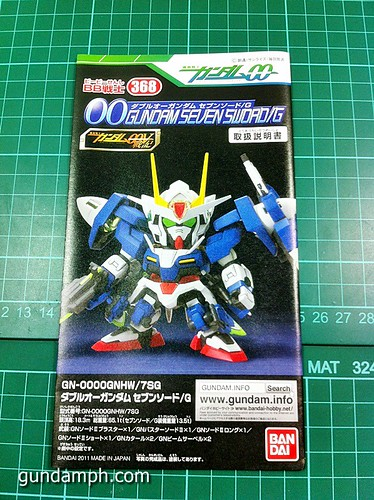 SD 00 Gundam Seven Sword G Review OOB Build GundamPH (8)