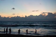 Surin Beach in the evening
