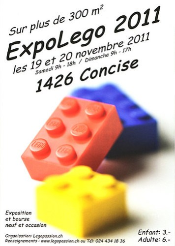 ExpoLego 2011 flyer