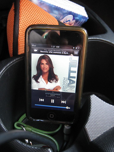 Jillian Michaels iPod podcast