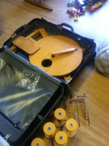 Wheel in maleta