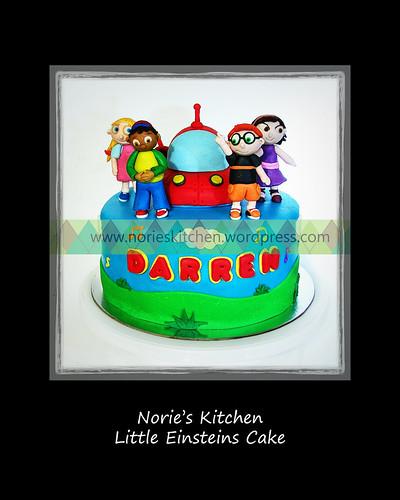 Norie's Kitchen - Little Einsteins Cake