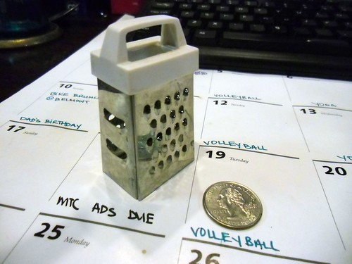 tiny cheese grater!