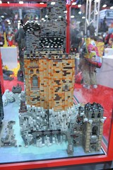 AFOL Castle Display Case - LEGO Booth at Comic Con - 23