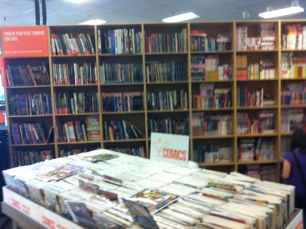 comic bookshelves