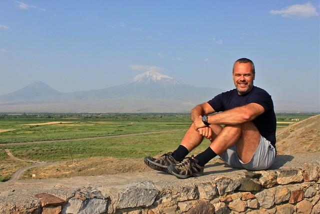 Marc et Ararat, Khor Virap, Arménie