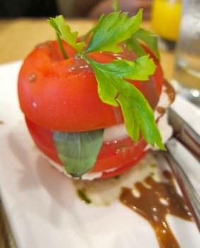 Buffalo mozzarella and Tomato