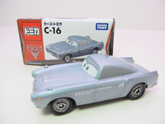 disney cars 2 tomica c-16 finn mcmissle (2)
