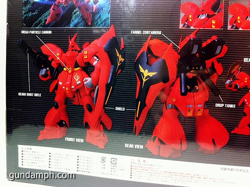 MSIA DX Sazabi 12 inch model (8)