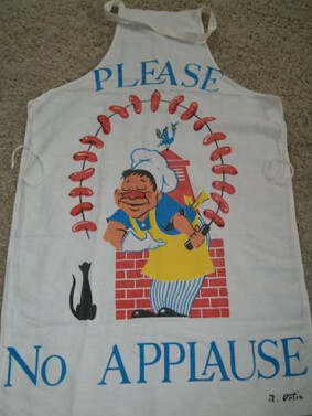 No Applause Apron
