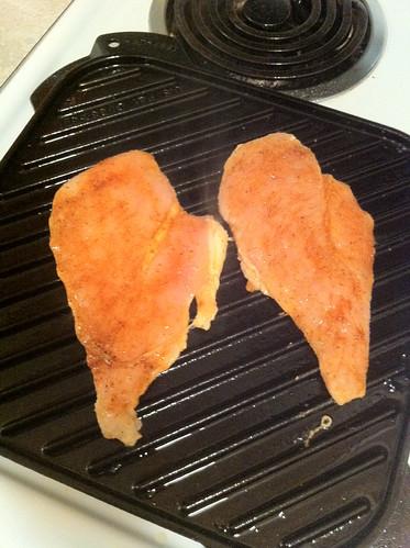 Put on Grill Chicken