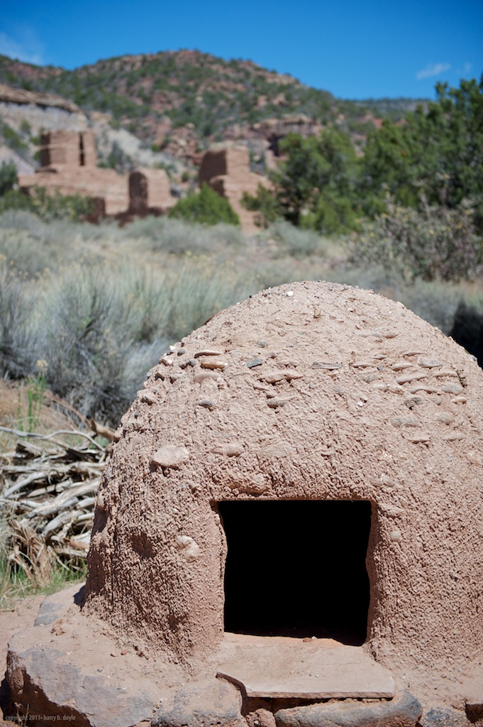 oven at the Jemez Monument