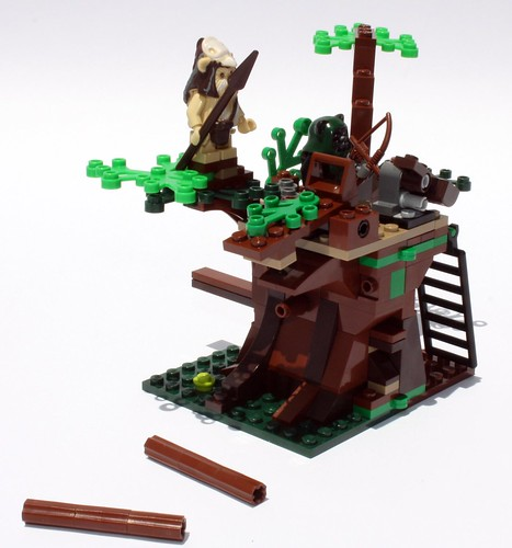 Could these logs stop a speeder bike