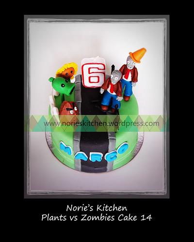 Norie's Kitchen - Plants vs Zombies Cake 14 by Norie's Kitchen