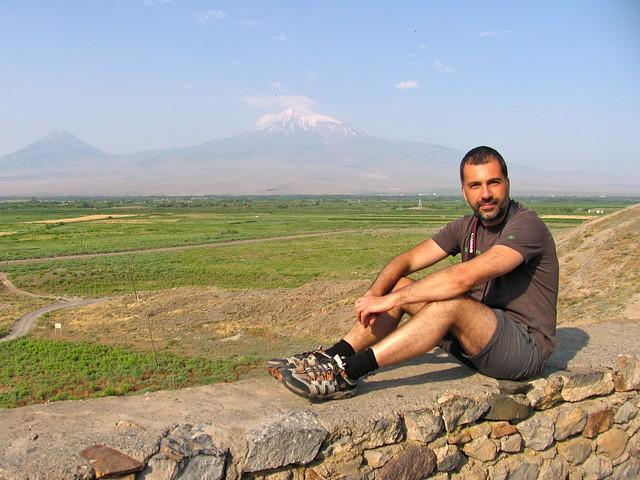 Ararat et moi, Khor Virap, Arménie