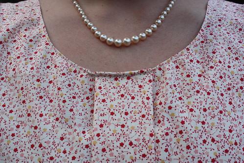 pre-pleat neckline