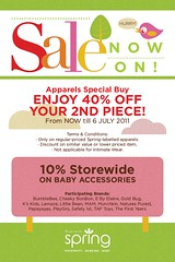 Camomile Spring MidYear SALE Celebration till 6 Jul 2011