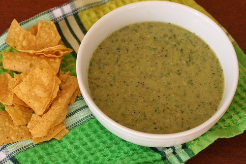 Creamy Roasted Jalapeño Salsa