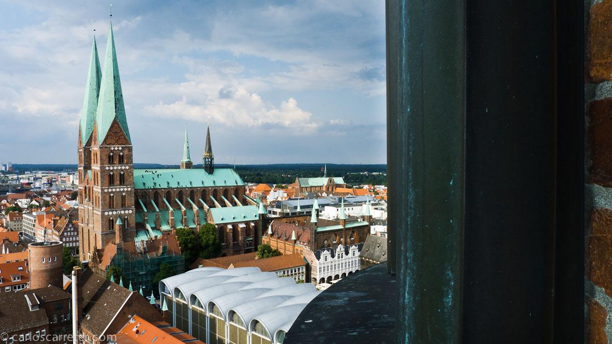 Vista hacia Marienkirche desde Petrikirche
