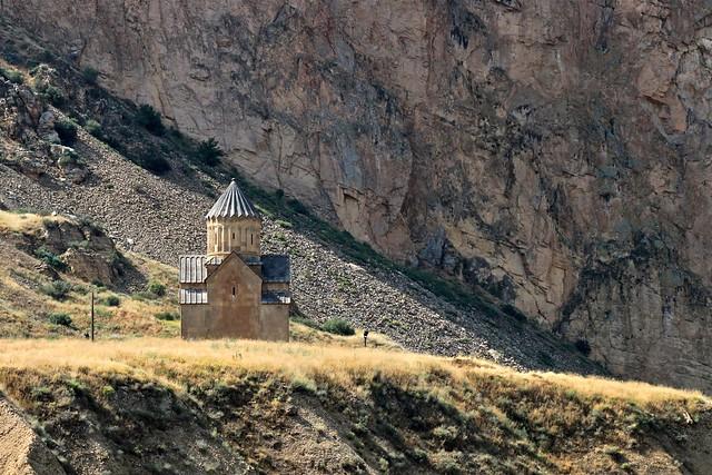 Une église à Vayots Dzor, Arménie