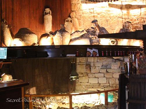 Museum in the restaurant