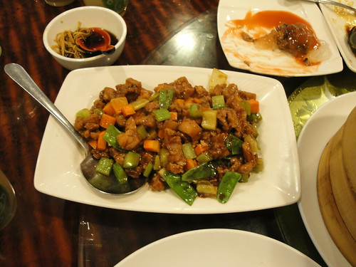 Diced Chicken with Peking Sauce