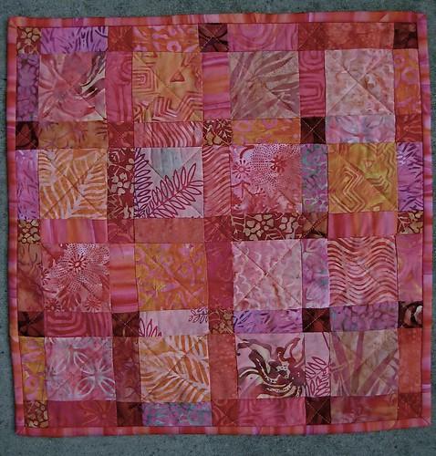 Mini quilt for DSQ 10