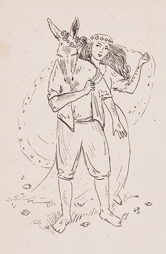 Illustration Friday: Midsummer Night